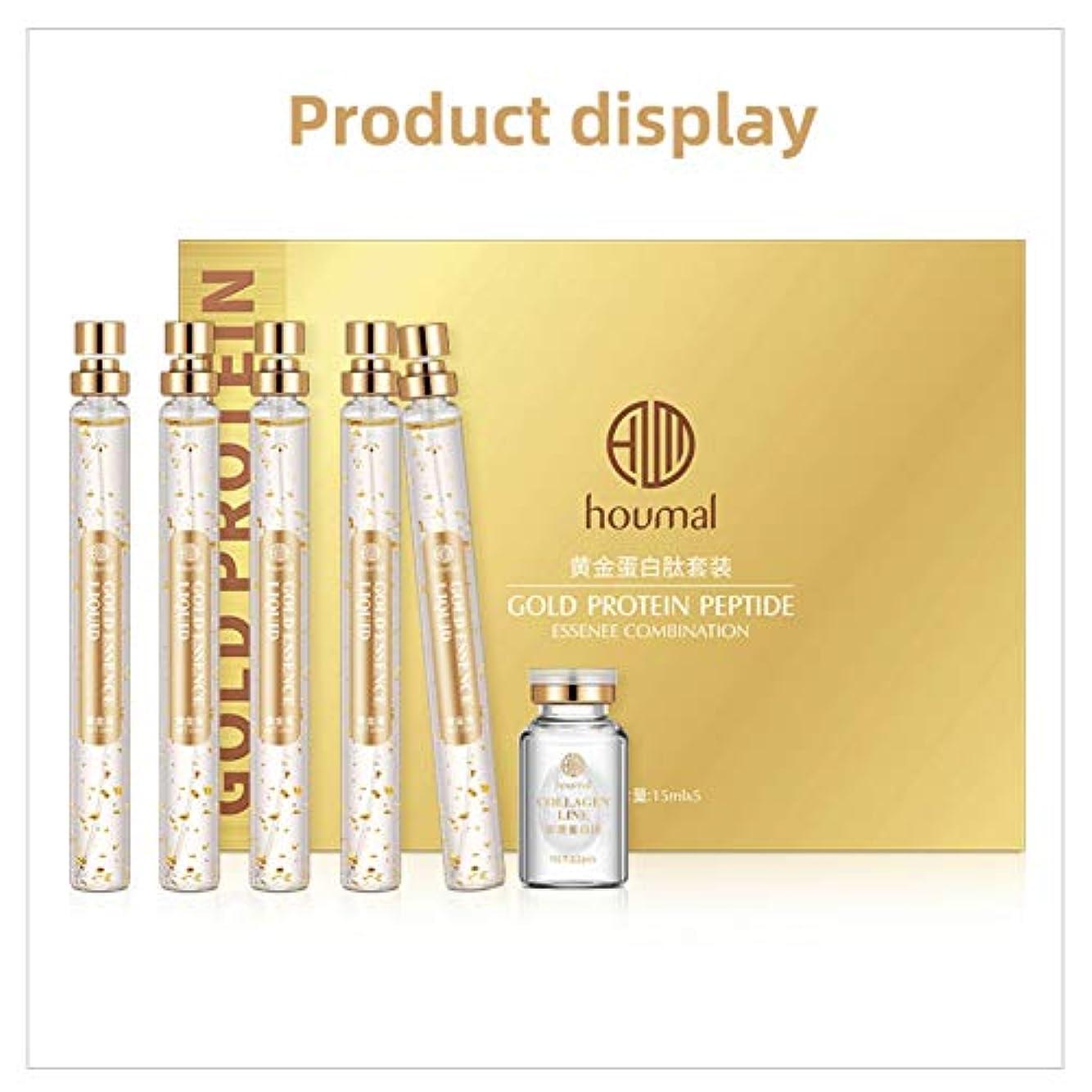 しかしながらトリムチロLucoss 24Kゴールドコラーゲンクリームエッセンス、保湿収縮孔、肌の引き締め、乾燥防止、老化防止