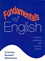 Fundamentals of English