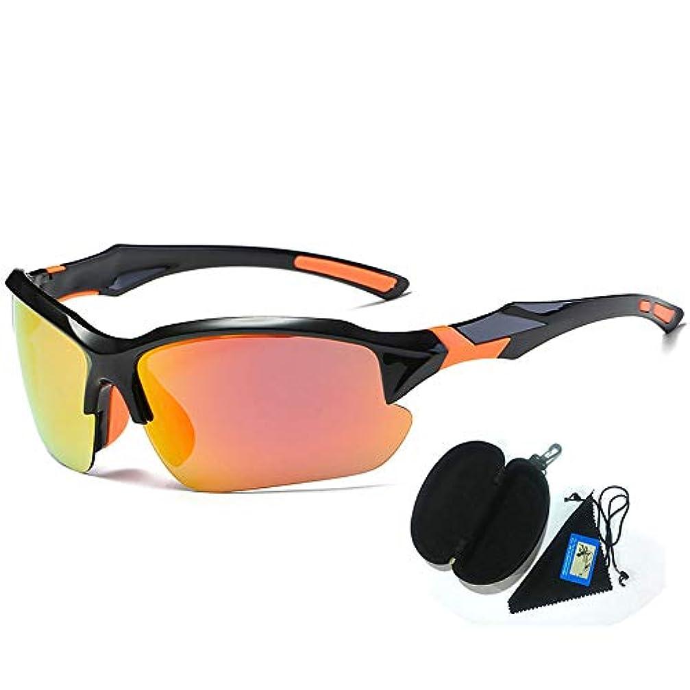 口述する非常にくスポーツサイクリングサングラス、 偏光サングラスカラーサングラス男性メガネに乗るアウトドアゴルフメガネボールをピックアップする