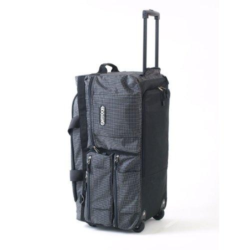 アウトドアプロダクツ 5WAY ボストンキャリーケース 65cm ブラック×チェック OD-0158-65