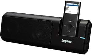 ロジテック iPod nano(G2/G1)専用Hi-Fiサウンドシステム(ブラック) LDS-Si100BK