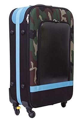 Carryco with me キャリコウィズミー ソフト スーツケース TSAロック キャリーケース ストッパー付 軽量 75L