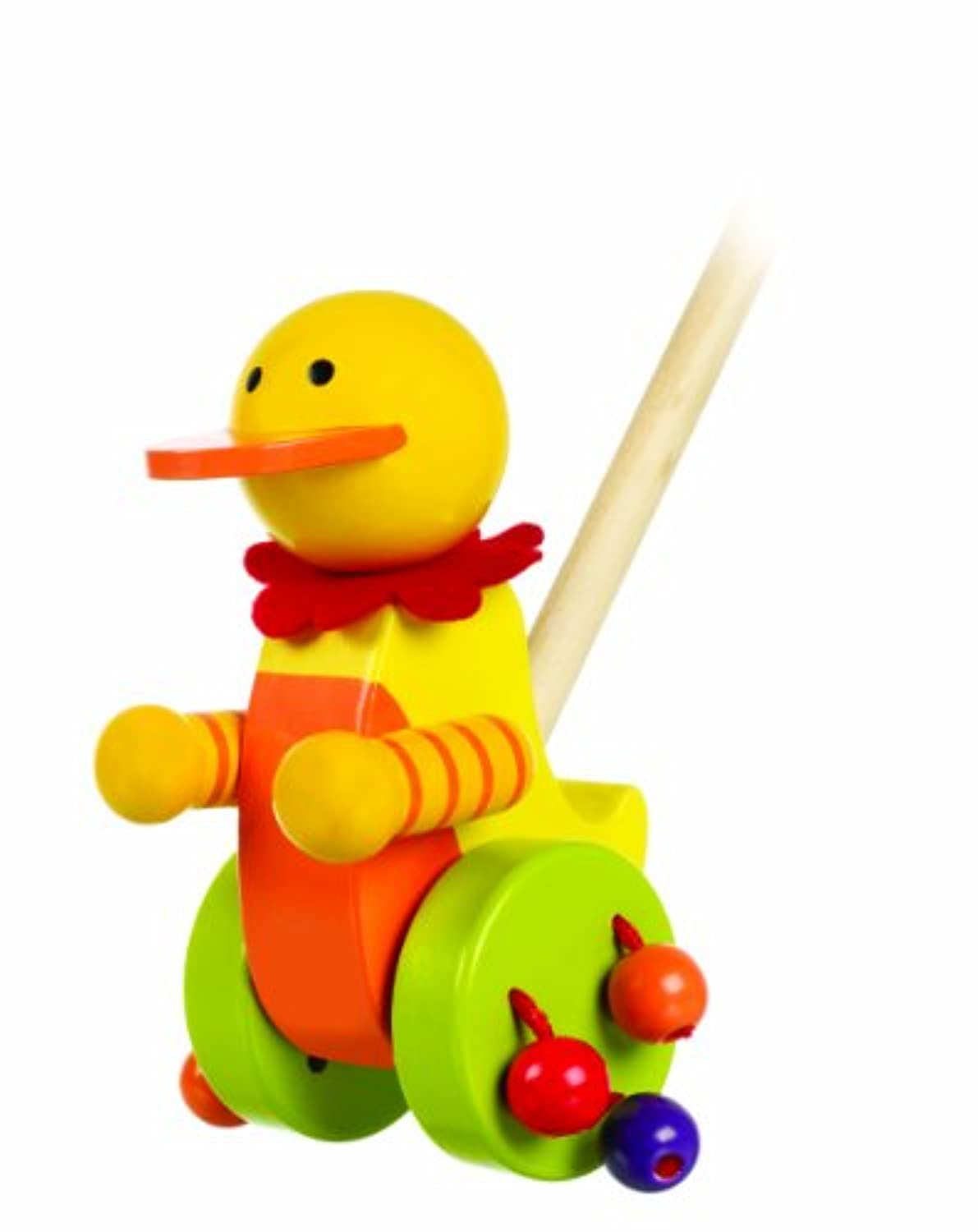 Wooden Duck [new design] Push Along Toy