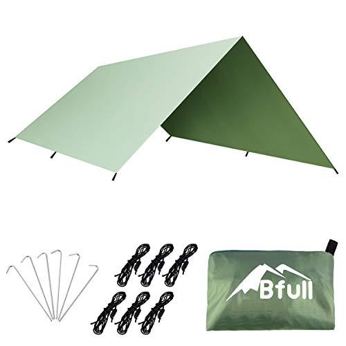 天幕 Bfull シェード 防水タープ タープUV 日焼け紫外線カット 多機能タープ 超軽量携帯便利タープセット