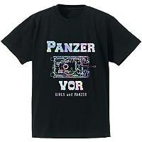 ガールズ&パンツァー劇場版 IV号戦車ホログラムプリント Tシャツ メンズ Sサイズ