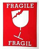 サムソナイト ステッカー FRAGILE 大 取扱注意 こわれもの 防水紙 シール~ スーツケース ドレスアップに
