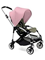 Bugaboo Bee3 Stroller - Soft Pink/Dark Khaki/Aluminum