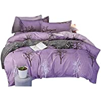 床品被套组合 日式 四季通用床上用品 单人 小块床笠 床笠用 床垫被用 透气