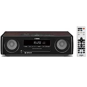 ヤマハ デスクトップオーディオシステム CD/USB/ワイドFM・AMラジオ/Bluetooth対応クロックオーディオ ブラック TSX-B235(B)