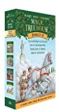Magic Tree House Boxed Set, Books 13-16: Vacation Under the Volcano, Day of the Dragon King, Viking Ships at Sunrise, and Hour of the Olympics by Osborne, Mary Pope (2008) Paperback