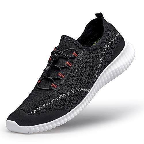 3e3b2a067fd77 [MOXOCO] スポーツシューズ メンズ ジョギングシューズ レディース ウォーキングシューズ 運動靴 ランニングシューズ トレーニング