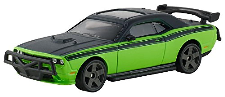 【1/55 2011 DODGE CHALLENGER SRT8(GREEN)】FAST7 ワイルド?スピード スカイミッション 劇中車 MATTEL HOTWHEELS