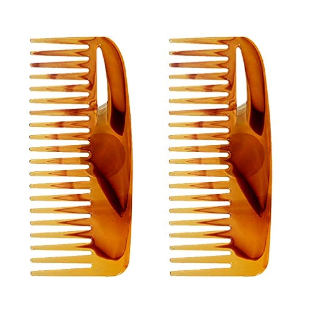 洗練された性交コントラストMinkissy 2ピースヘアコーム理髪スタイリングツールレトロコームヘアインサートコーム髪型コーム用浴室女性男性