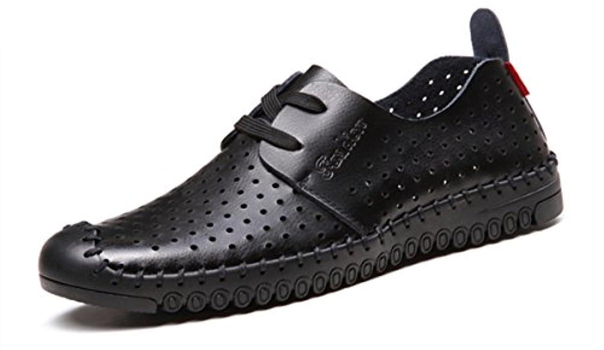 コマース輸送言語(レモンツリーセブン)Lemon tree7 メンズ 紳士靴 ビジネスシューズ サンダル 靴 レザーシューズ 蒸れない 夏 オフィスサンダル サンダル
