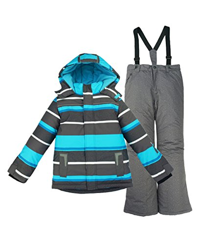 [해외](하이 하트) Hiheart 키즈 주니어 스키웨어 스노우 보드웨어 상하 세트 소년 스노우 보드웨어 스포츠 코트 어린이 바지 겉옷 눈 놀이 방한 오버 뒷면 양털/(High Heart) Hiheart Kids Junior Ski Wear Snowboard Wear Sideboard Wear Sports Court C...