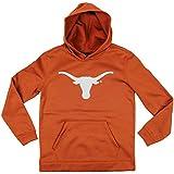 Texas Longhorns NCAA Youth Big Boys Perforatedプルオーバーパーカー – Burntオレンジ