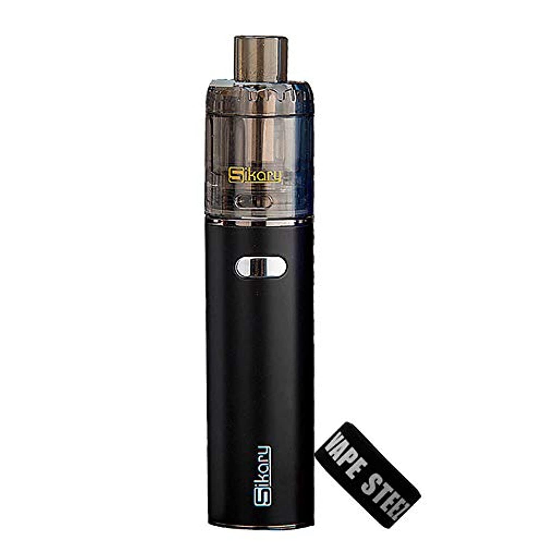電子タバコ 使い捨て 爆煙 Sikary OG KIT シカリー オージーキット 24mm BAND付き(Black)