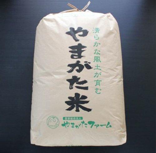 2018年山形県産 はえぬき 玄米30キロ 【緑肥米】