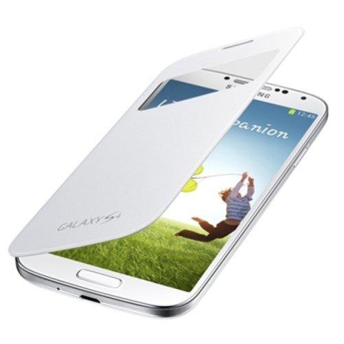 SAMSUNG純正GALAXY S4 S View Cover / docomo GALAXY S4 SC-04E専用カバー / ホワイト(全7色) / ギャラクシーS4フリップカバー / ワンセグアンテナ対応 / ホワイト