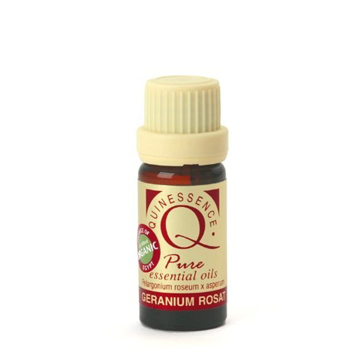 違うヒットそうGeranium Rosat Essential Oil - Certified Organic 10ml by Quinessence Aromatherapy