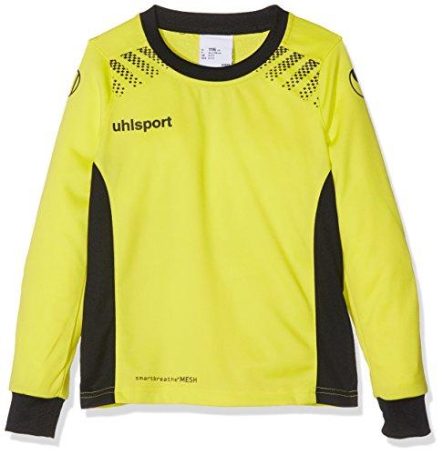 uhlsport(ウールシュポルト) ゴールキーパーシャツ 1005614 ライトフローイエロー×ブラック[11] M