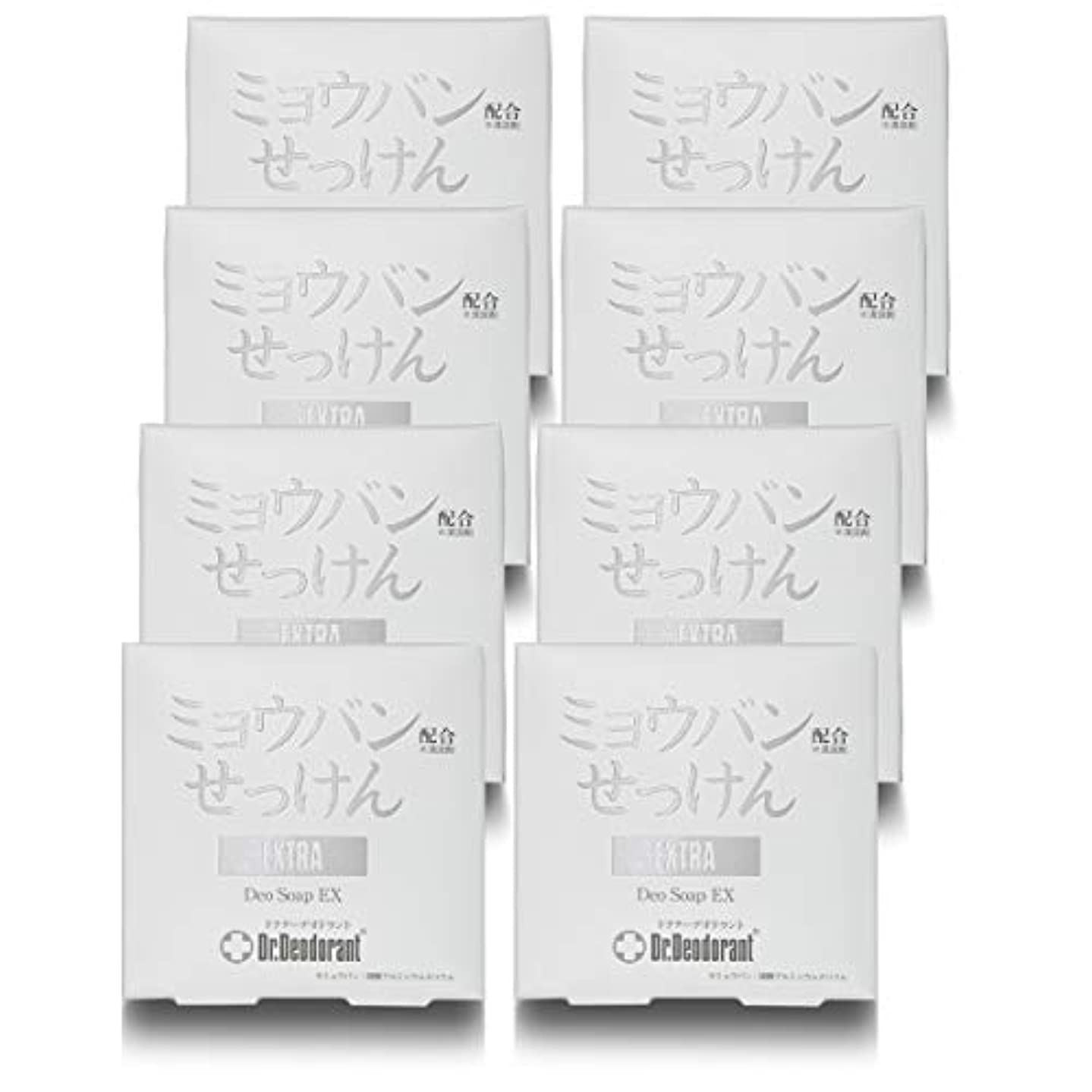 二次不一致タバコドクターデオドラント 薬用ミョウバンせっけんEX (10個セット)