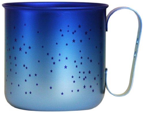 ホリエ チタンデザインマグカップ ボーダー&星
