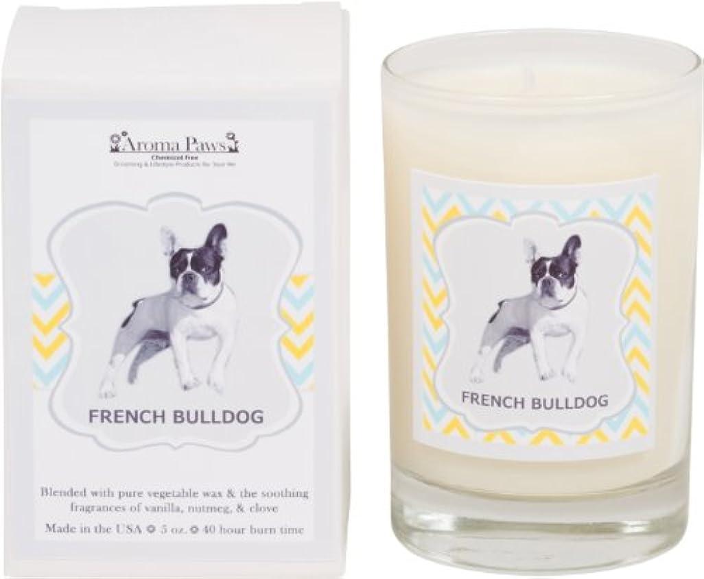 植生友情男Aroma Paws Breed Candle in Glass with Gift Box, French Bulldog by Aroma Paws