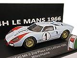 CMR 1/43 フォード GT40 MK II #1 第2回 24h LeMans 1966 「フォード VS フェラーリ」