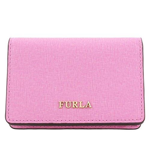 フルラ カードケース レディース バビロン ピンク 921948 PS04 ORCHIDEA [並行輸入品]