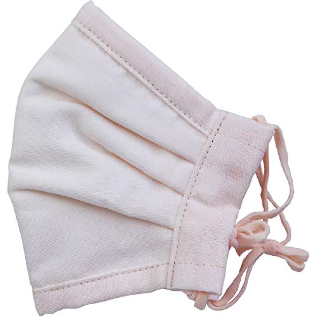 道徳教育雪の教義さらふわマスクダイヤドビー 敏感肌用 ライトピンク ふつうサイズ 1枚入(単品)
