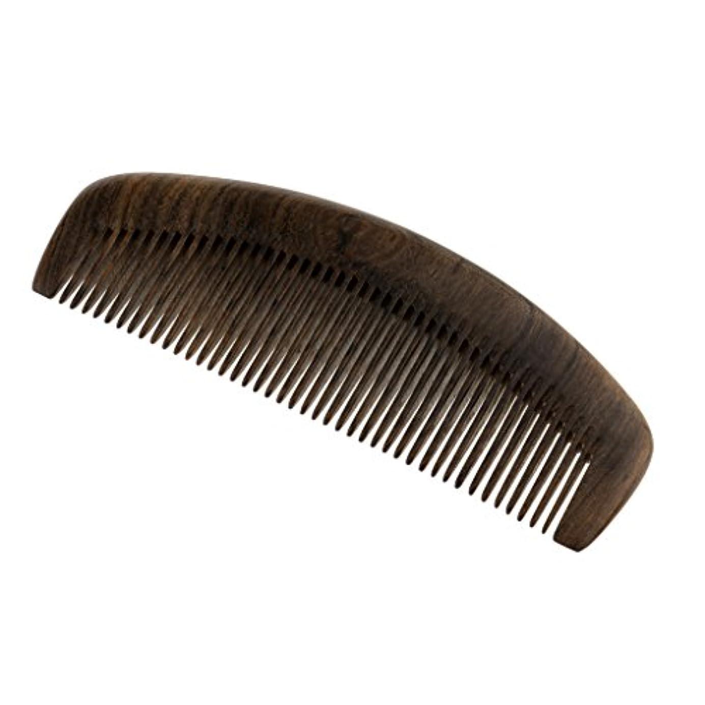 抵抗スティック洞察力Toygogo ナチュラルチャケートプレトヘアマッサージコーム木製ポケットヘアブラシ細かい歯