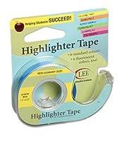 10パックLee製品会社リムーバブル蛍光テープブルー