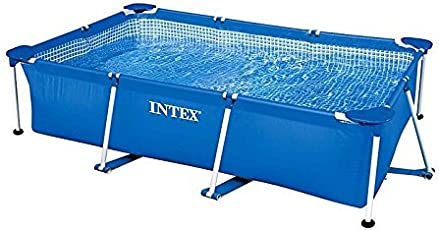 INTEX(インテックス) プール レクタングラフレームプール 220x150x60cm 28270 [日本正規品]