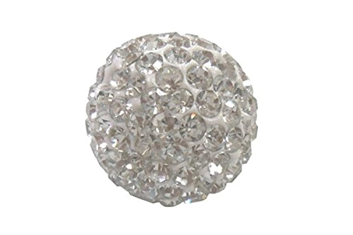 変動する逃れる絶壁キラキラクリスタルボール クリスタル 12mm (片穴)