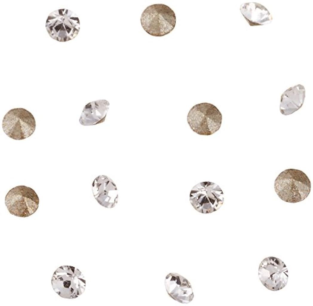 平衡柔らかさ打ち上げるネイルアートパーツ Vカットストーン クリスタル PP10   約1.6~1.7mm