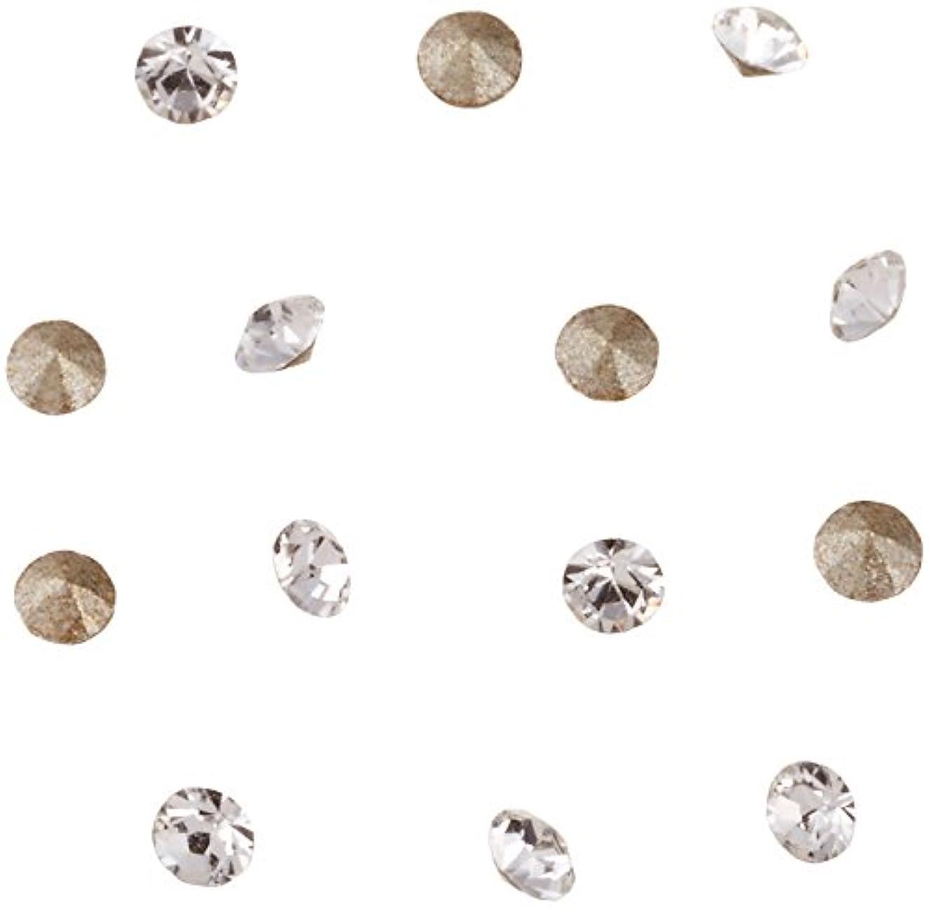 不透明な七面鳥意外ネイルアートパーツ Vカットストーン クリスタル PP10   約1.6~1.7mm