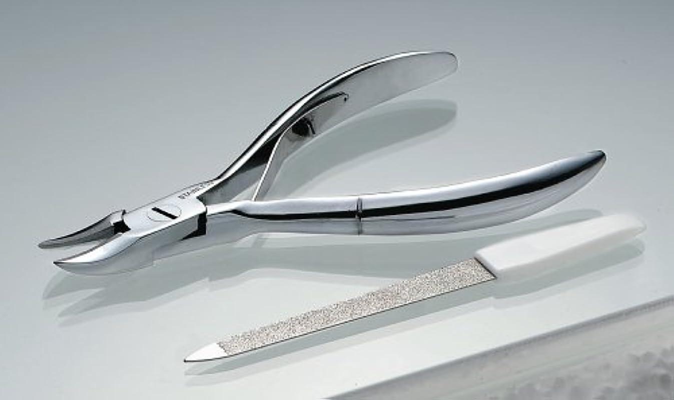 レンダー障害者線形つめ切りニッパ 仕上げヤスリ付き