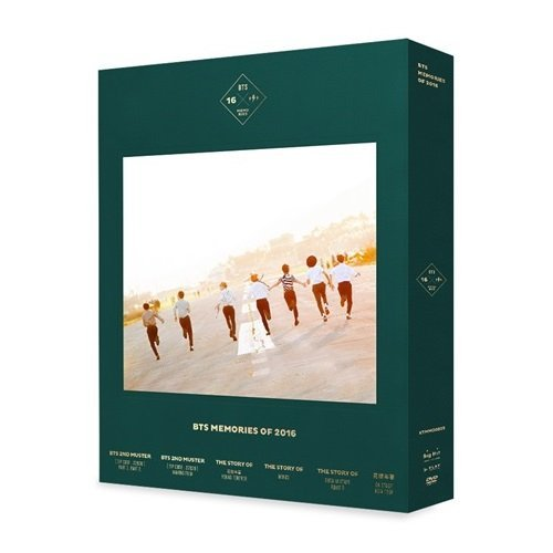 防弾少年団 - BTS MEMORIES OF 2016 DVD 4DISC+188p Special Photobook+Photocard+Extra Photocard Set [韓国盤]