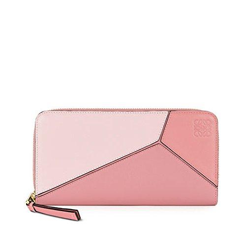 LOEWE(ロエベ) Puzzle Zip Around Wallet softレディース長財布[並行輸入品] (pink)