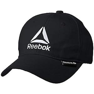 [リーボック] Reebok リーボック デルタロゴ刺繍キャップ AC2002 キャップ ブラック 日本 F (Free サイズ)