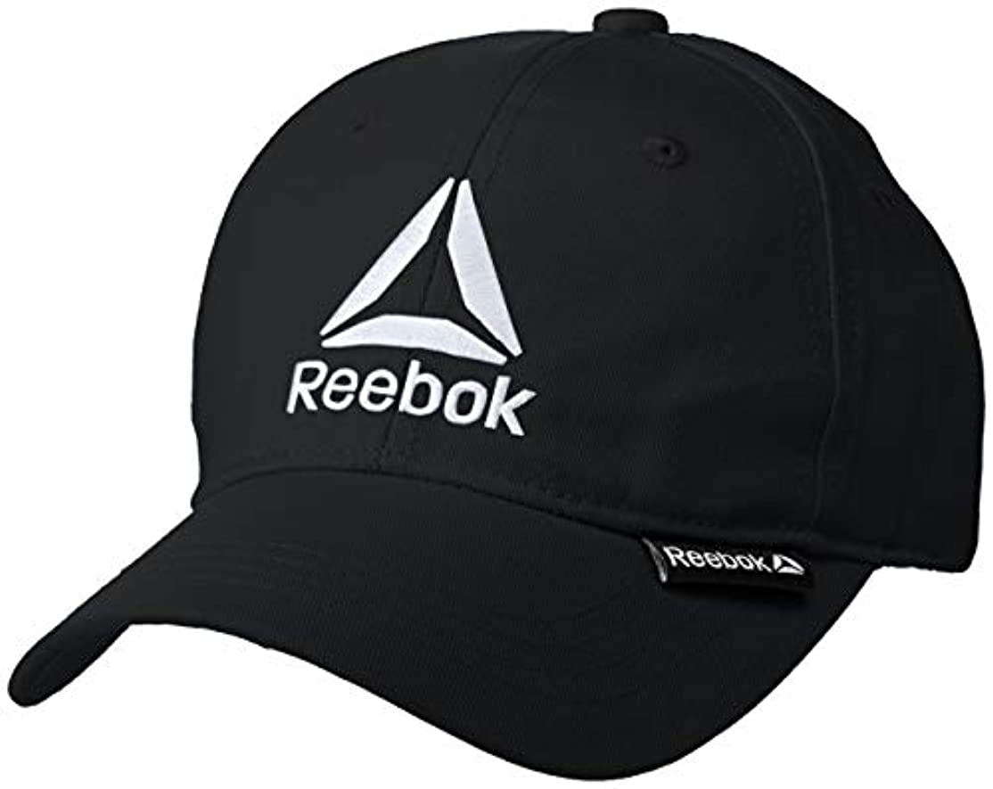 ロック構造的偶然[リーボック] Reebok リーボック デルタロゴ刺繍キャップ AC2002 キャップ