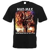 マッドマックス最大力映画ポスターメンズTシャツストリートウェア原宿TシャツデザイナーTシャツOネックTシャツXxxxl