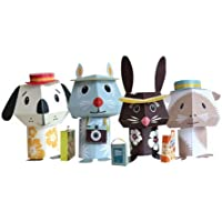 Papertoy Paper Animals - Jet Set Pets