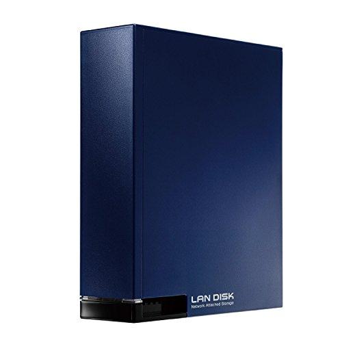 I-O DATA NAS 2TB 入門モデル/スマホ/タブレット対応 40周年記念カラー 日本製 HDL-T2NV