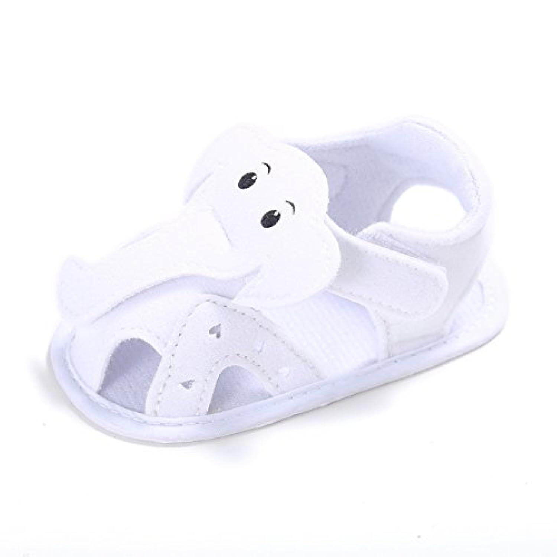 Zhengpin 可愛い ゾウ 柔らかいソール ベビー 女の子 男の子 乳児靴