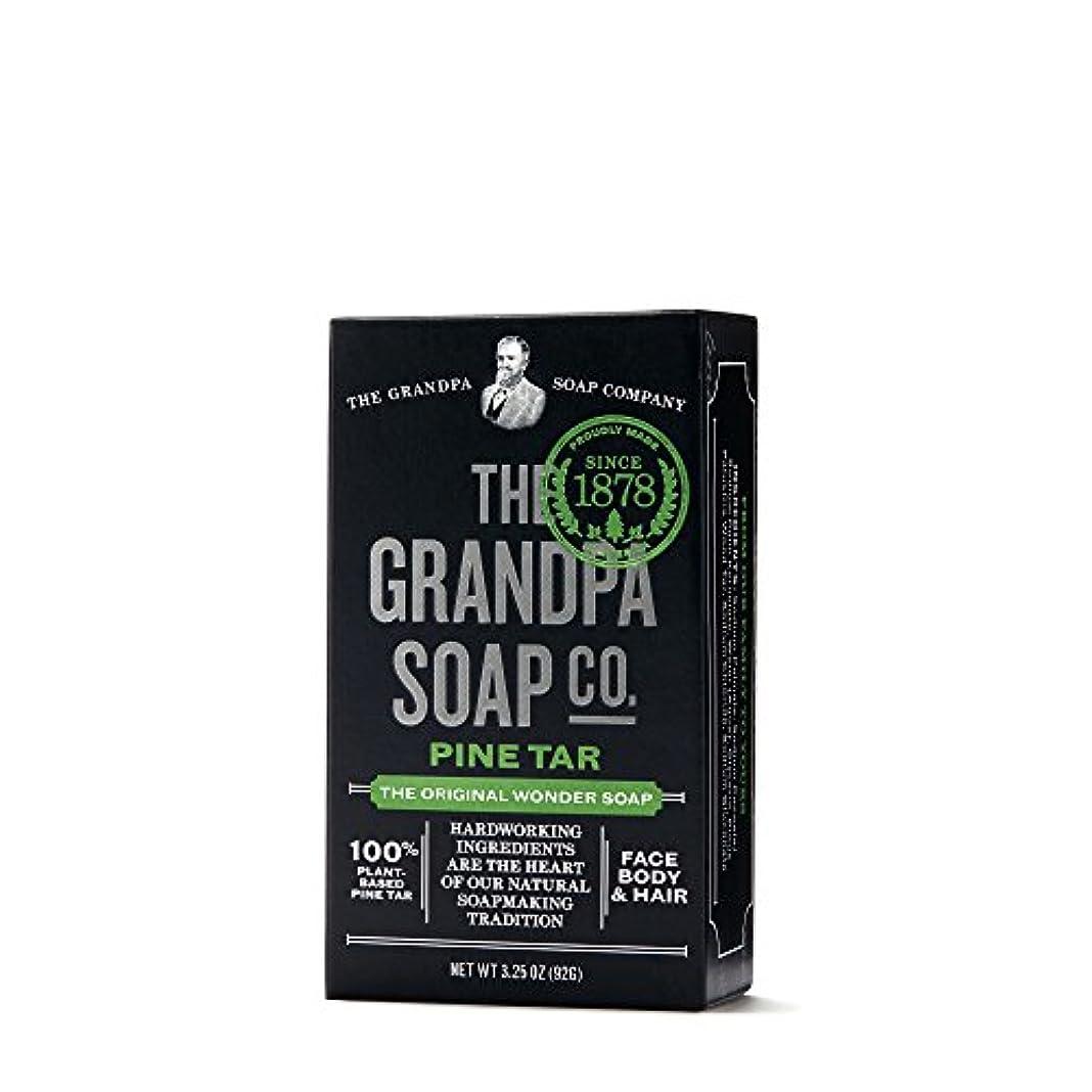 カスタム抽象化謝罪するPine Tar Soap - 3.25 oz Bar (6 Pack) by Grandpa's
