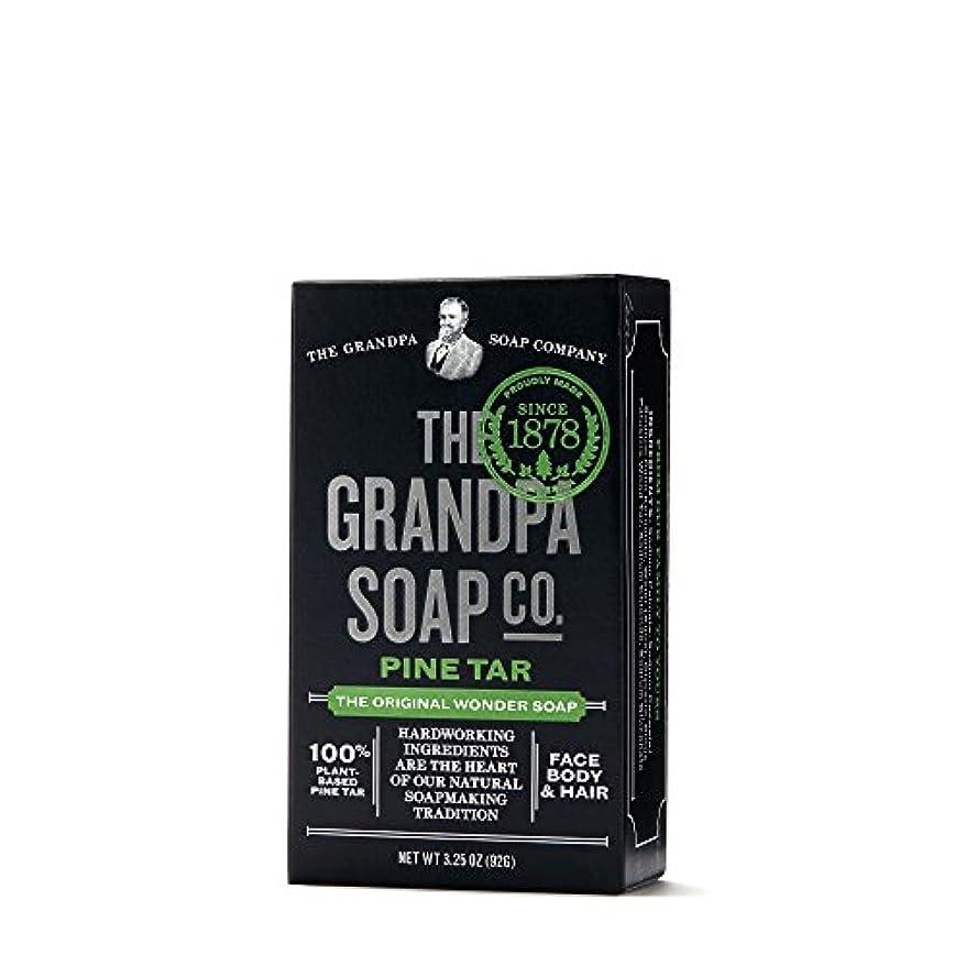 輝度セールパキスタンPine Tar Soap - 3.25 oz Bar (6 Pack) by Grandpa's