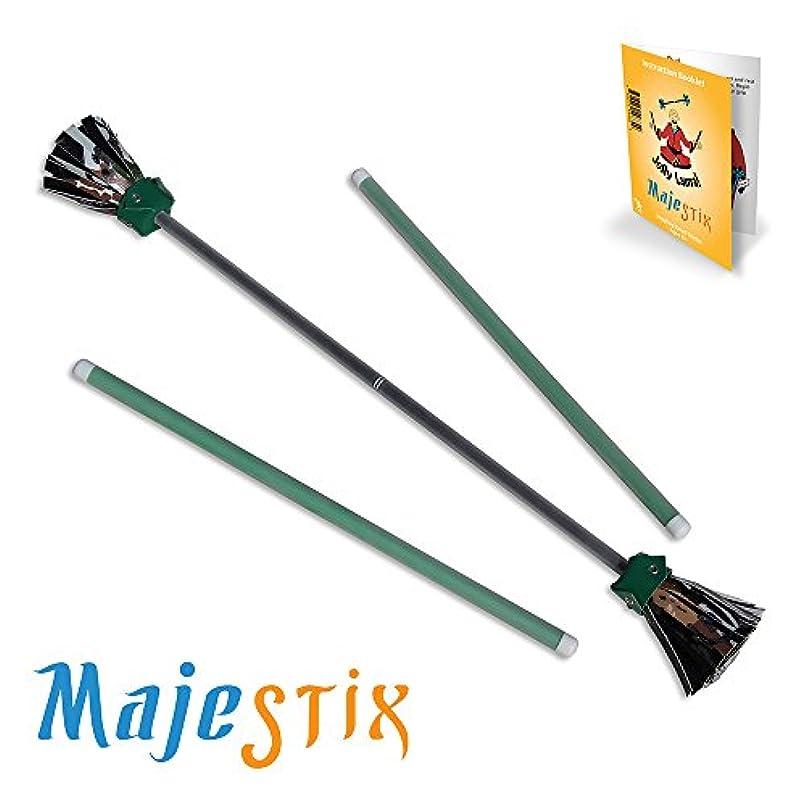 ねばねば磨かれた優雅な[ジョリーラマ]Jolly Lama! Black Majestix Juggling Sticks Devil Sticks MJBK [並行輸入品]
