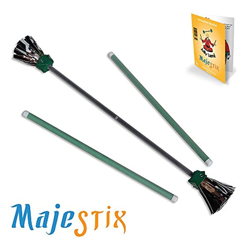 自分のためにラブ見通し[ジョリーラマ]Jolly Lama! Black Majestix Juggling Sticks Devil Sticks MJBK [並行輸入品]